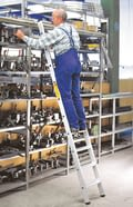 Shelving access ladders from aluminium, aluminium, shop_rl_0416_a