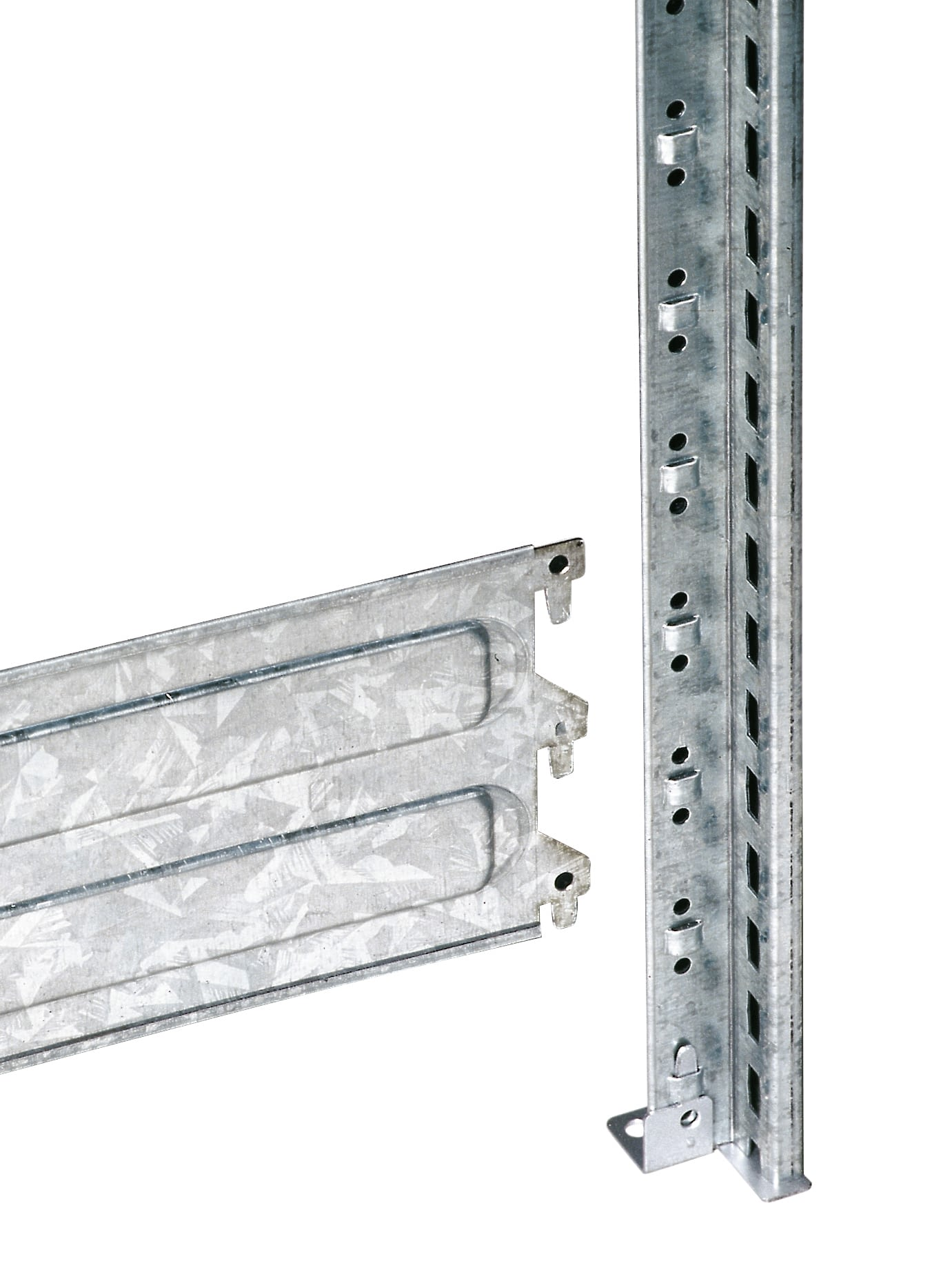 Frames with connector plates, galvanised, 11147
