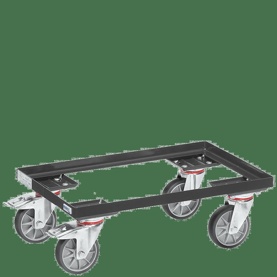 transportroller grey edition f r beh lter 600 x 400 mm. Black Bedroom Furniture Sets. Home Design Ideas