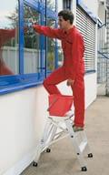 Aluminium platform steps, aluminium, shop_img_47195