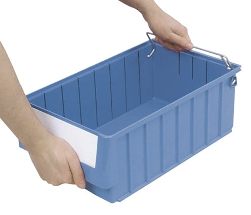 Storage and handling bins RK, dove blue, IMG_18638