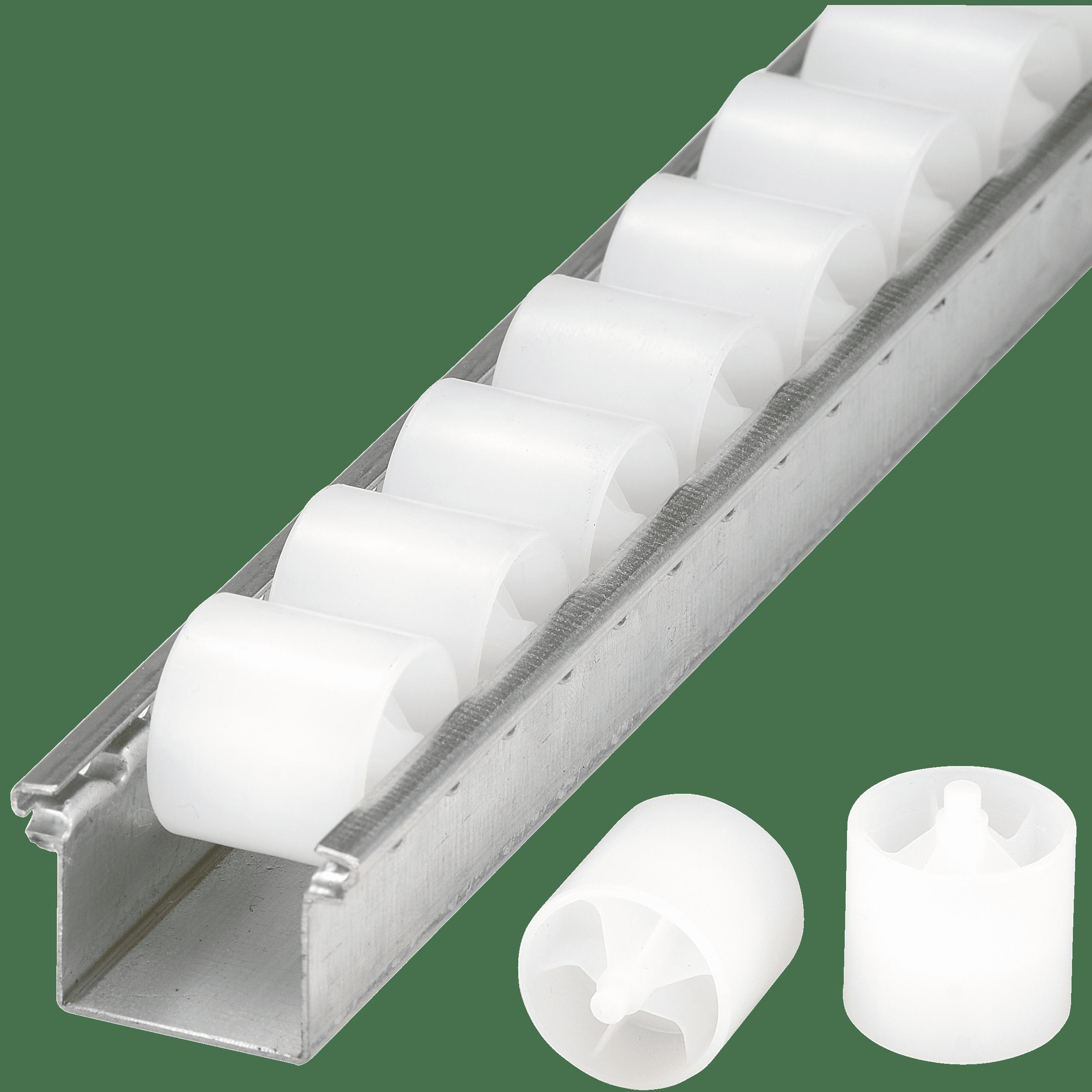 rails galets galets cylindriques en plastique bito. Black Bedroom Furniture Sets. Home Design Ideas