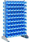 Reoler med kasser, dobbeltsidet udførelse, med kasser, forzinket, 8-19508