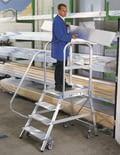 Platform steps, aluminium, shop_img_47087