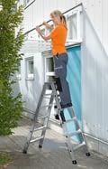 Aluminium staande ladders, aluminium, shop_img_49264